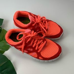Nike Free Run 2 Bright Orange Sneakers